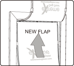 Flap Installation - Step 03