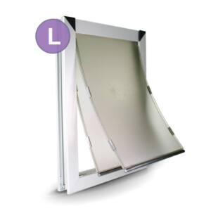 L Dual Flap Dog Door