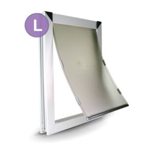 L Single Flap Dog Door