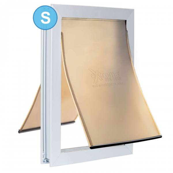 Small eXtreme Dog Door - Dual flap