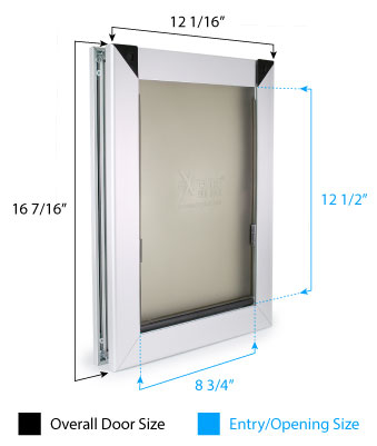 Medium Dog Door Dimensions