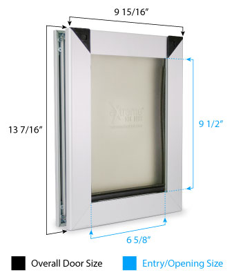 Small Dog Door Dimensions