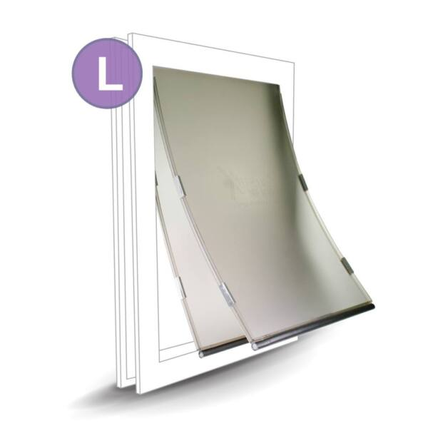 Replacement Door Dual Flap - Large